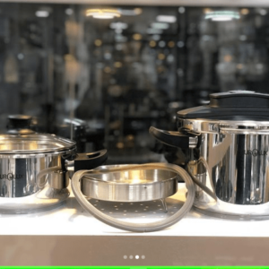 زودپز و بخارپز دوبل 4+6لیتری يورولوكس